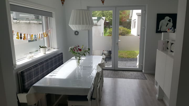 Family/infant friendly home in 104 Reykjavik
