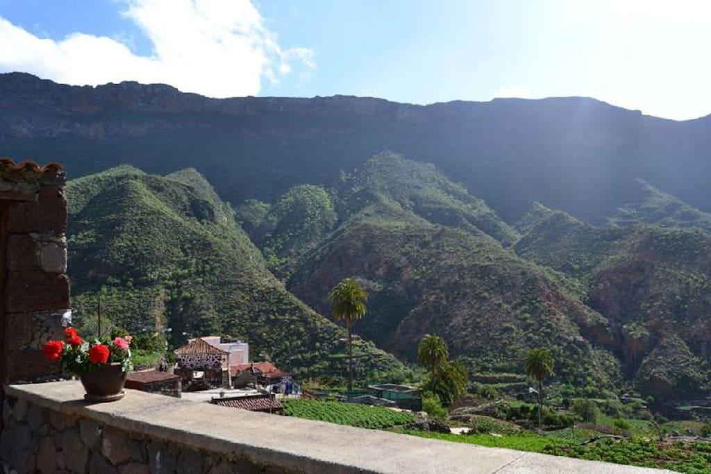 Vistas desde la casa pueblo de La Solana
