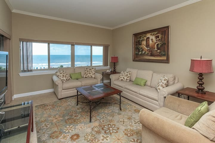 Living Room at 453 Captains Walk