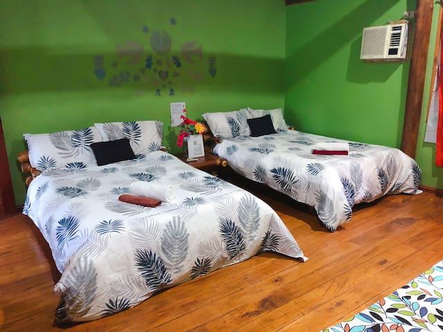 杜马盖地南木海景私人度假别墅高级房(双床)twin bed room