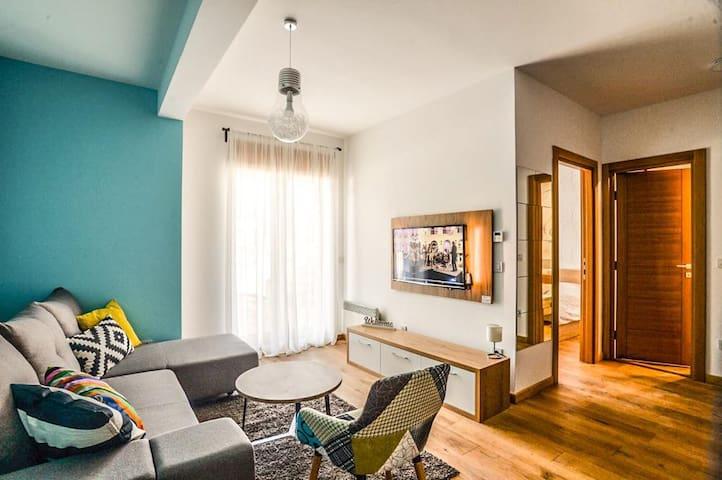 "Beautiful apartment""Konstantin&SPA""on top location"