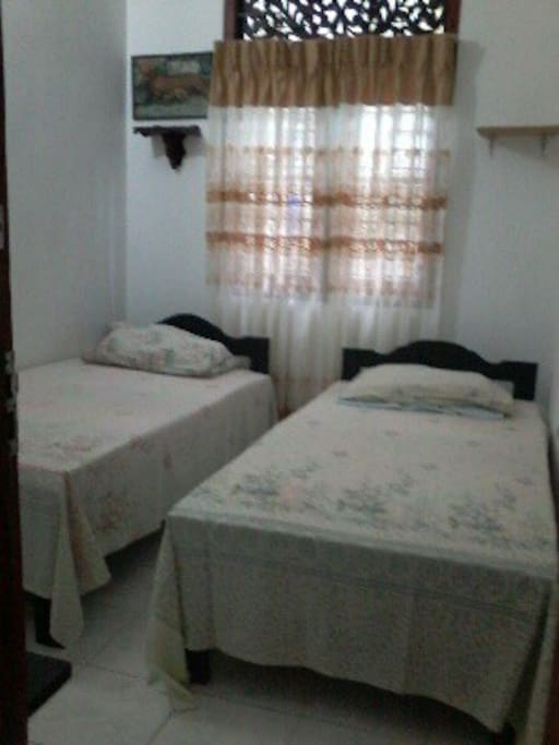 Bedroom - Two single beds