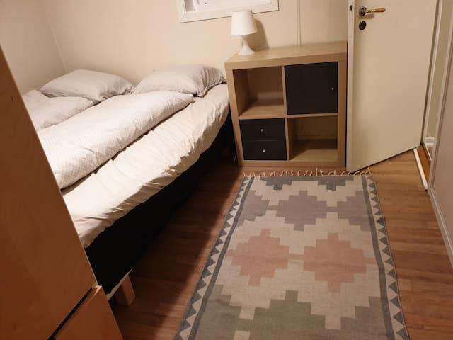 Bedroom/ soverom (bed/seng 160 cm)