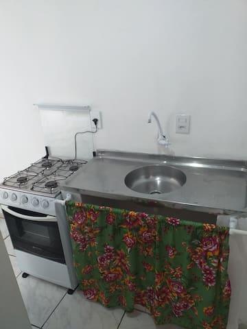 Ambiente  individual,quarto cozinha e banheiro....