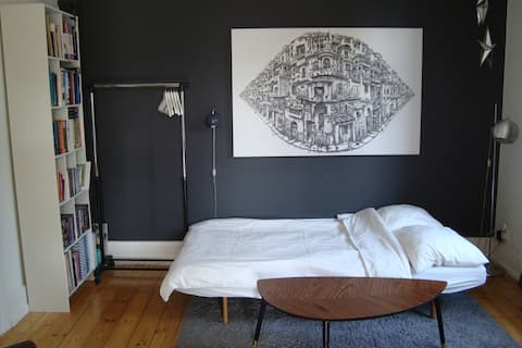 Room near the center of Copenhagen