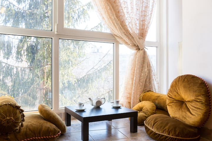 Уютная 2х-комнатная квартира - Moskva - Flat
