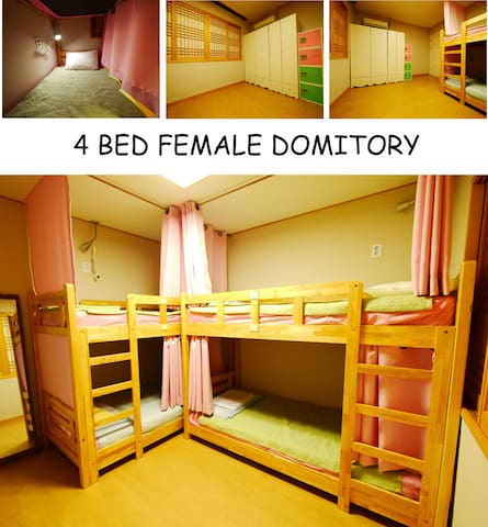 Seoul i 4 bed female dormitory(1)