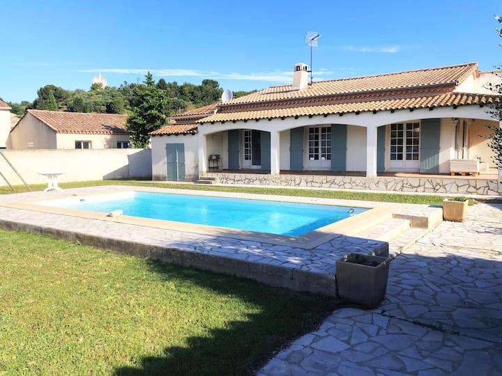 Villa avec piscine en Petite Camargue