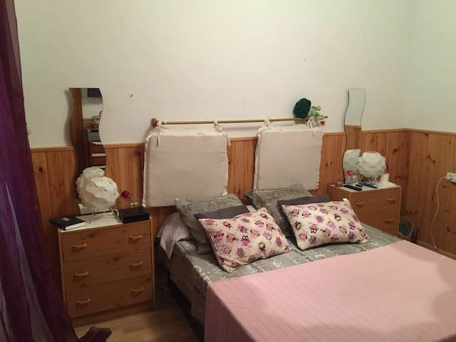 Doppelzimmer im zentrum (der Strand 15') - Palma - Huis