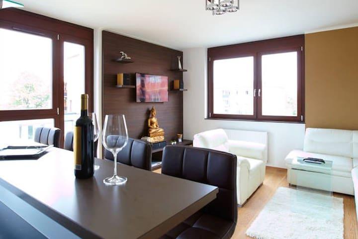 Luxury Apartment Buda Wi-fi Garage - Budapest - Apartment