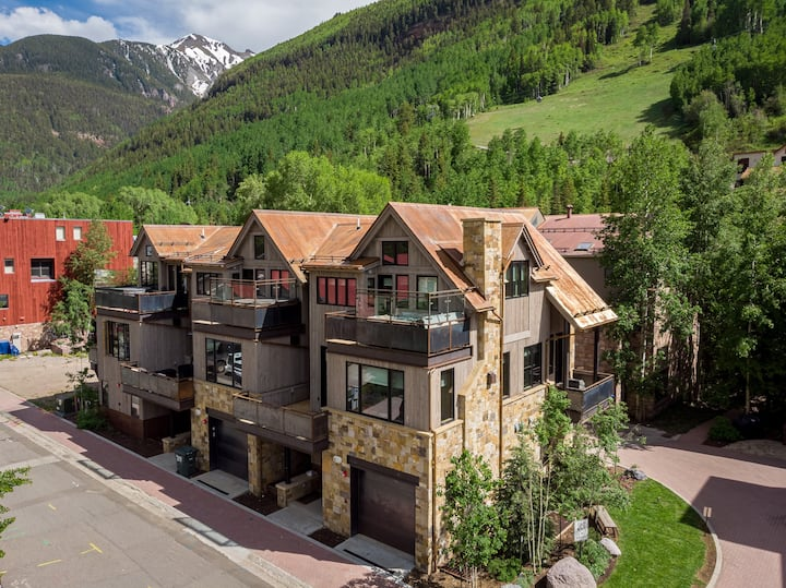 Stunning Townhome Filled with Luxurious Touches, Designer Finishes, and a Private Hot Tub