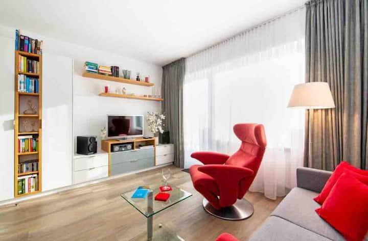 Moderne Wohnung - stadt- & strandnah in Westerland