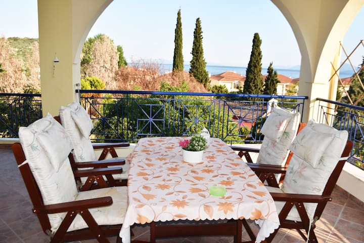 Elegance and comfort in Golden Beach of Panagia!!! - Chrisi Akti Panagias - House