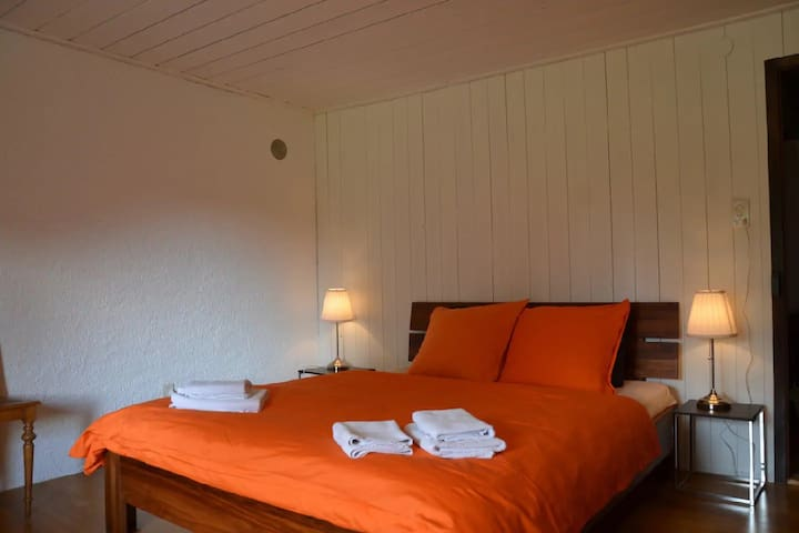 Chambres d'hôtes - BnB Wonderlandscape, (Saignelegier), Bed & Breakfast - Chasseral, (Saignelégier), 1-2 pers., 1 room