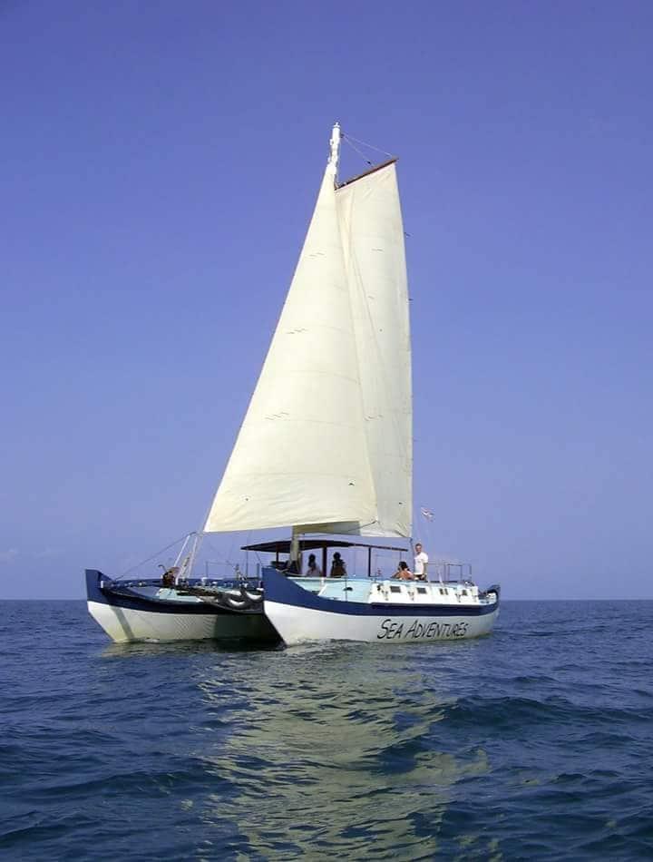 SEA ADVENTURES Catamaran,Sailing& snorkeling trips