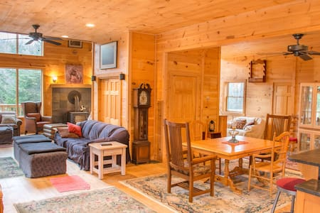 Maine woods retreat with Moosehead lake access - Greenville - Fjallakofi