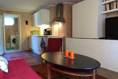 Egen leilighet i bolighus nær Kragerø sentrum