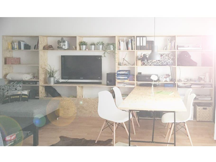 designer 1 zimmer wohnung citynah condos zur miete in kassel hessen deutschland. Black Bedroom Furniture Sets. Home Design Ideas