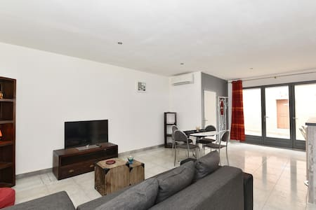 Comfortable & quiet flat, 55 Sq m ground level - Saleilles