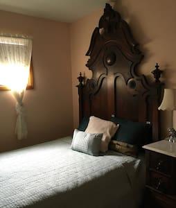 Heirloom, hand crafted, bedroom set - Bedford