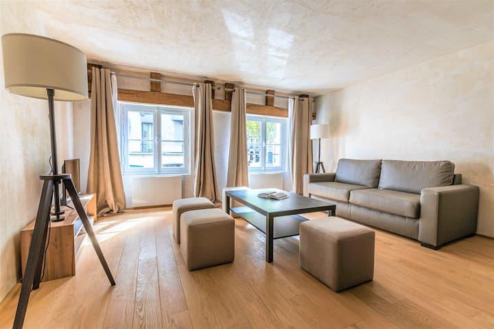 Luxurious & Design Flat 2BR/8P -Blvd Saint Germain