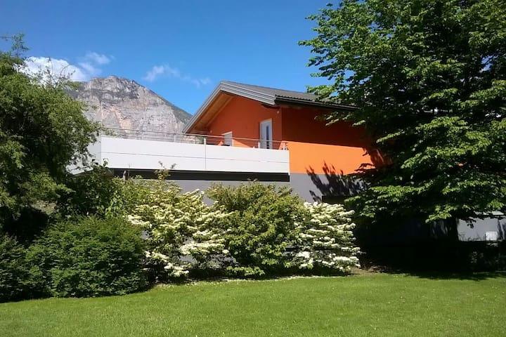 Casa Bruni, nella natura della Valle dei Laghi