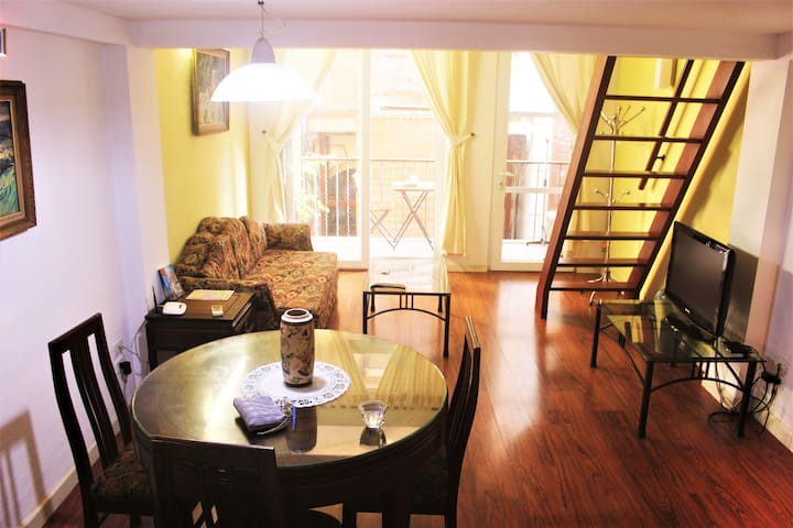 Specialy Apartment with large bedroom, balcony,