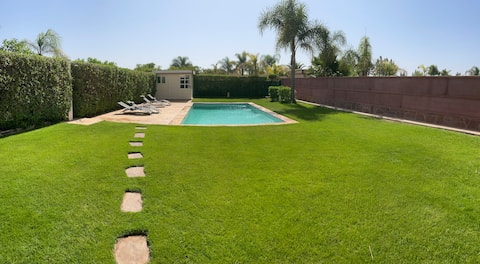 Beautiful villa with private pool/ Dyar Shemsi