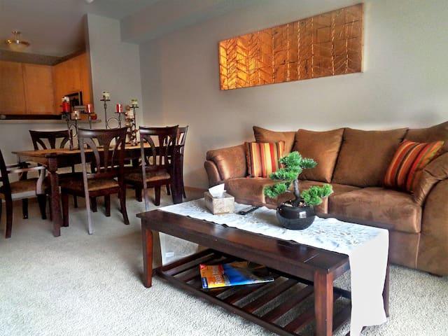 Stylish 2Br Condo w/ Lot of Amenities & Balcony - Minneapolis - Wohnung