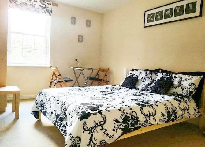 Nice double bedroom in popular area of Leith