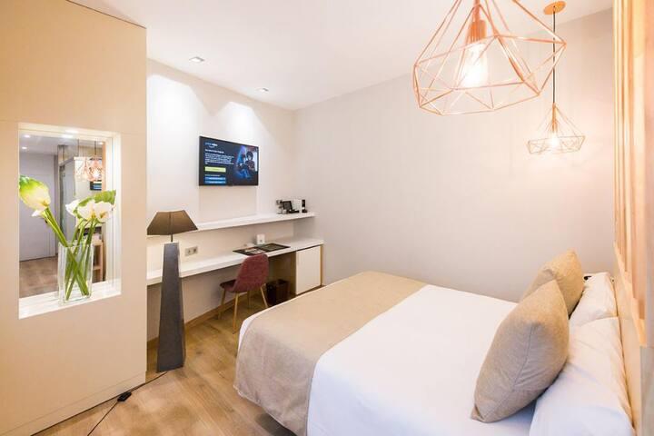 Hotel Fruela - Doble para uso individual - Tarifa estandar