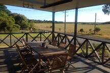 Our shared space front verandah available for you to enjoy