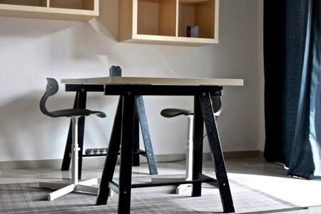 Spacious modern apartment with yard - Iraklio