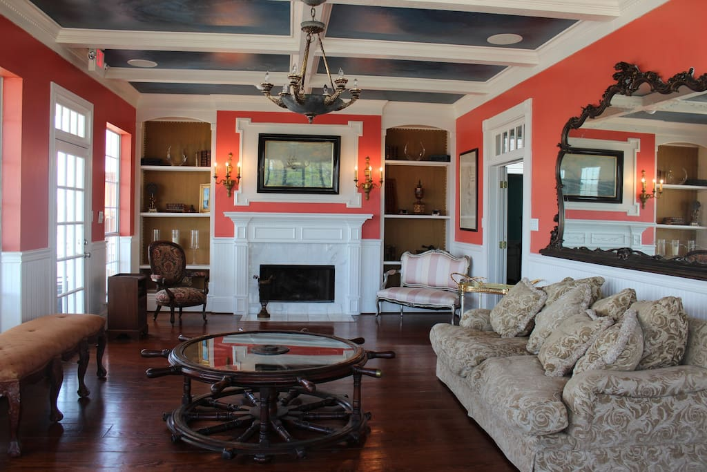 A view of the living room.