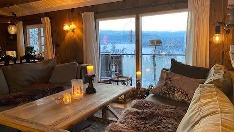 Koselig hytte i flotte omgivelser, Øvre Birtedalen