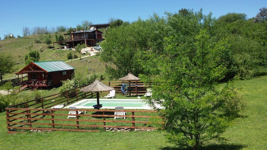 Cabaña Rincon de Yacanto - Córdoba - Naturstuga
