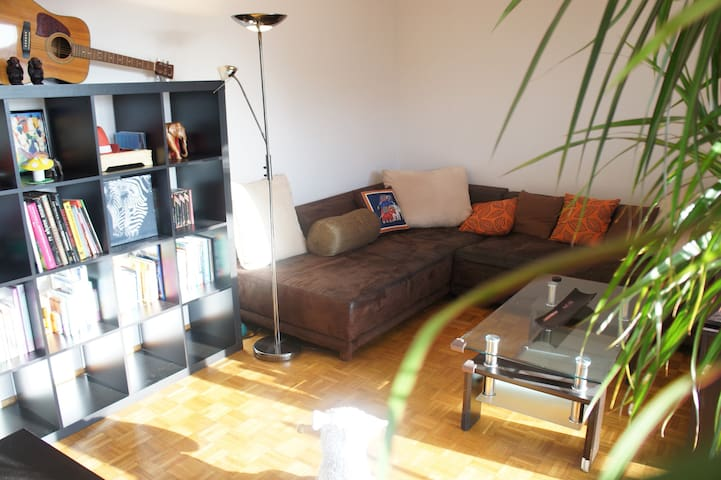 Cosy apartment near Lausanne with balcony - Bussigny - Apartemen