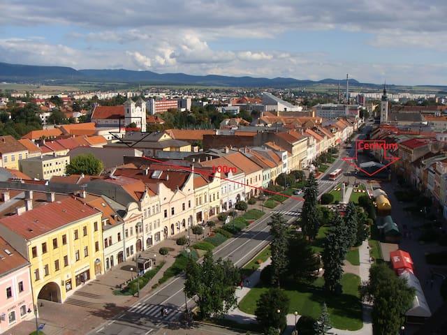 Lavendel Apartment 72 qm CENTRUM 100 m + Parking - Prešov / vedla PKO/ - Condominium