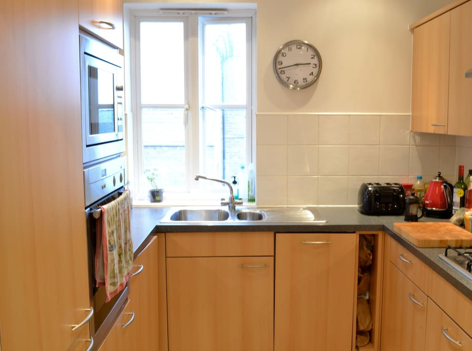 Kitchen with all cookware and utensils you will need
