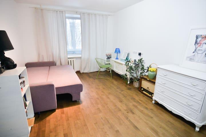 Современная квартира в самом зеленом районе города