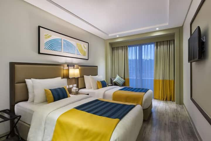 2 TWIN BEDS WITH PRIVATE BEACH IN BORACAY