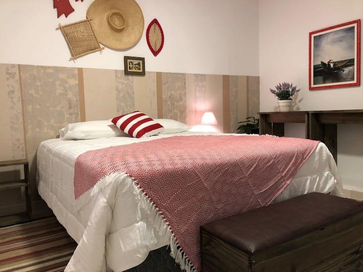 Casa Vermelha quartos