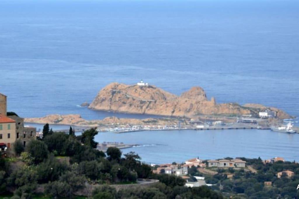 la Pietra à île rousse