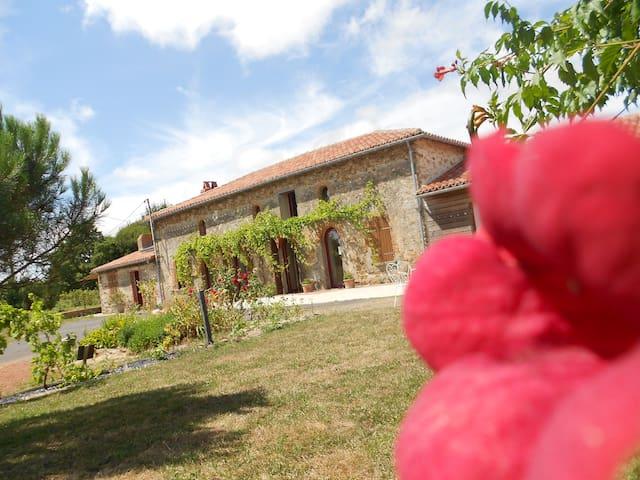 Jolie maison au coeur de la campagne des Mauges - Saint-Germain-sur-Moine - Hus