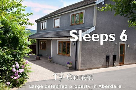 Spacious property in South Wales - Aberdare - Hus
