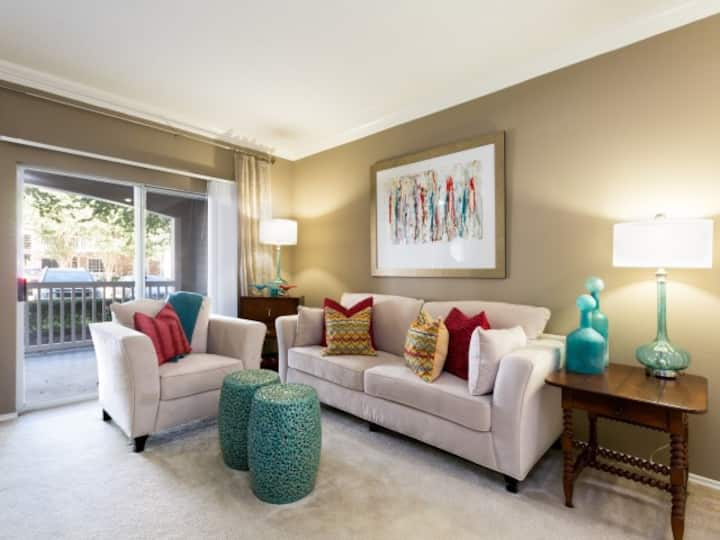 Rest easy and live life | 2BR in Houston