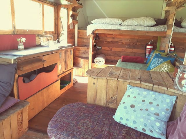 Tiny house stay  on permaculture Farm