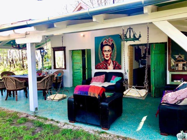Maxican Tiny House at lake Balaton
