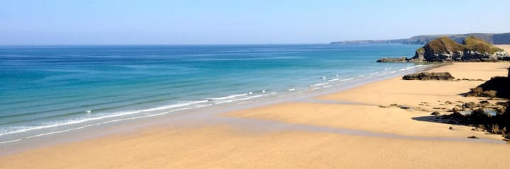 Newquay Flat Two Mins From Beach & Town