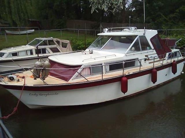 Lady Greybrooke - Kent - Båt